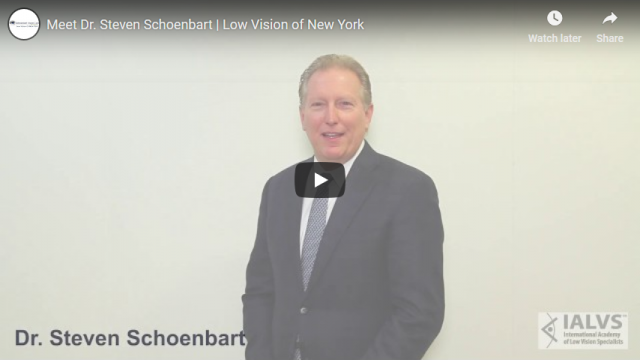 Screenshot 2019 04 08 Meet Dr Steven Schoenbart Low Vision of New York YouTube